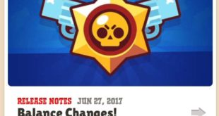 Изменение баланса от 27 июня 2017