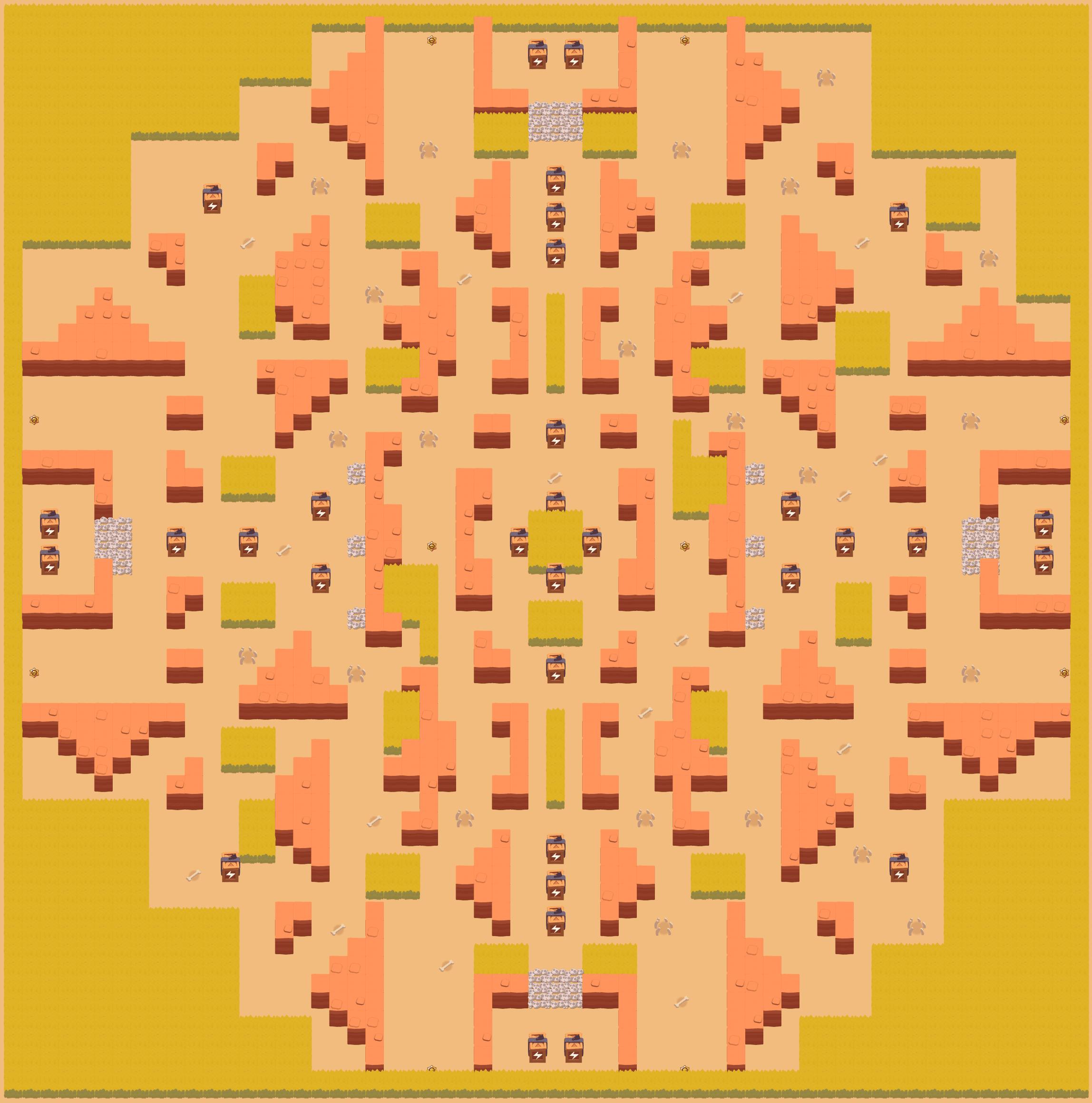 Карта DEATH VALLEY - Showdown