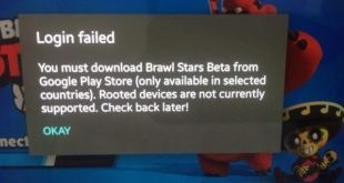 Ошибка Login Failed в Brawl Stars. Как решить?