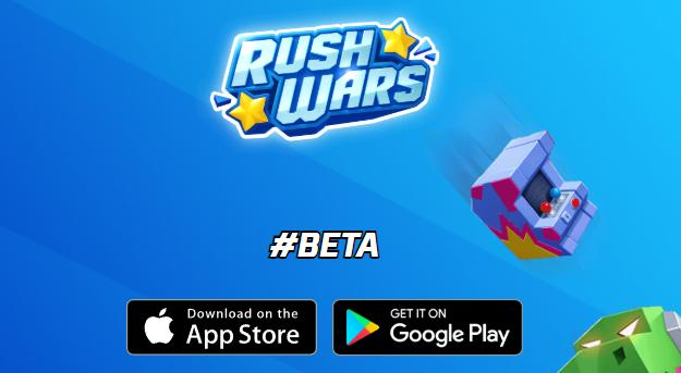 Rush Wars от Supercell. Новая игра. Пока в бета тестировании