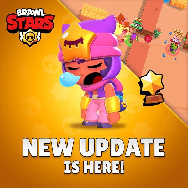 Обновление Brawl Stars 21.66 на Android